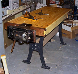 Furniture Legs Lee Valley mvr's workbenches