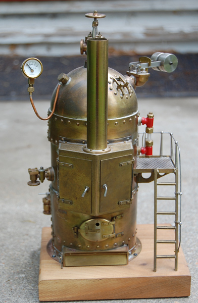 My Father's Model Steam Engine Boiler