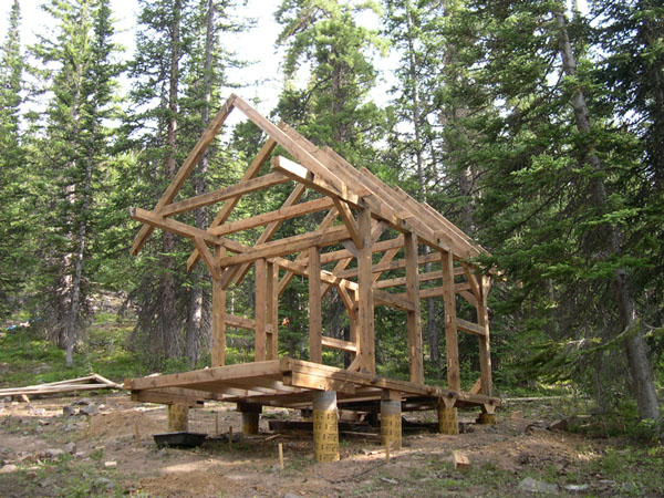 The Timber-Framed Cabin Project